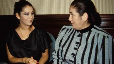 Photo of Isabel Pantoja's mother, Ana Mara Martn Villegas, dies at the age of 90