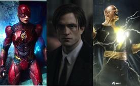 "Photo of ""The Batman"", ""The Adobe Flash"" with ""Dark Adam"" star in DC Fandome"