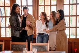 Photo of Five out of the six protagonists about Pasin sobre hawks will participate in a second season about a soap opera
